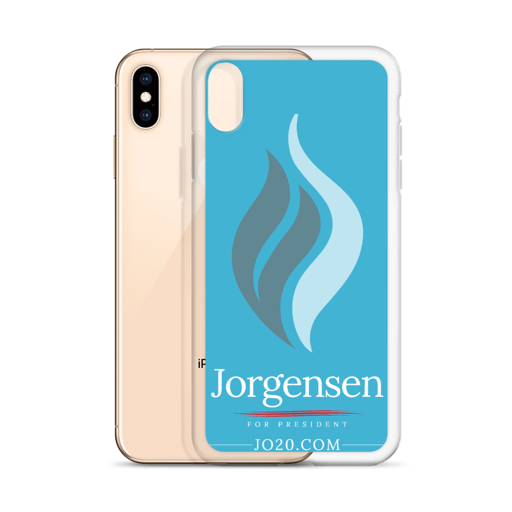 Jorgensen 2020 iPhone Case - Proud Libertarian