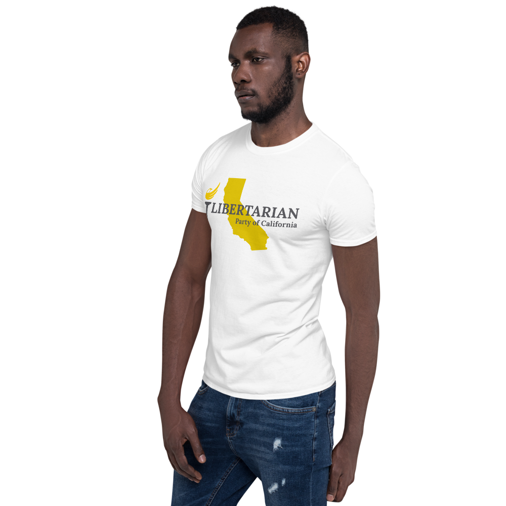 Libertarian Party of California Short-Sleeve Unisex T-Shirt - Proud Libertarian