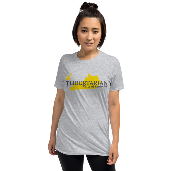 Libertarian Party of Kentucky Short-Sleeve Unisex T-Shirt - Proud Libertarian