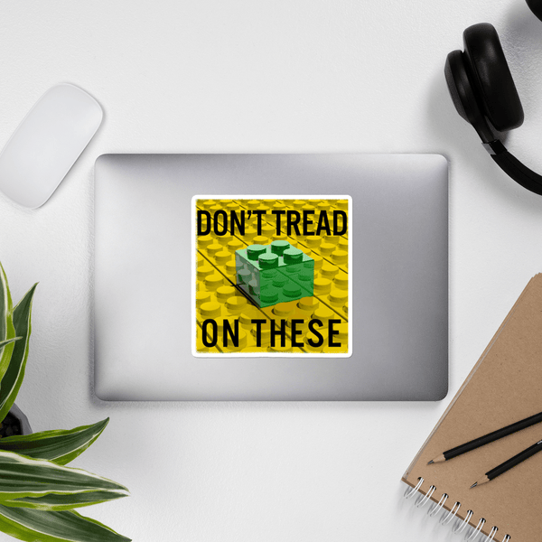 Don't Tread on These Bricks Bubble-free stickers - Proud Libertarian