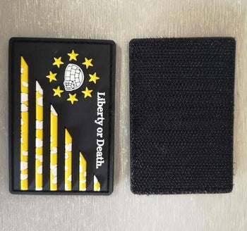 Give me Liberty or Give me Death Patch - Proud Libertarian