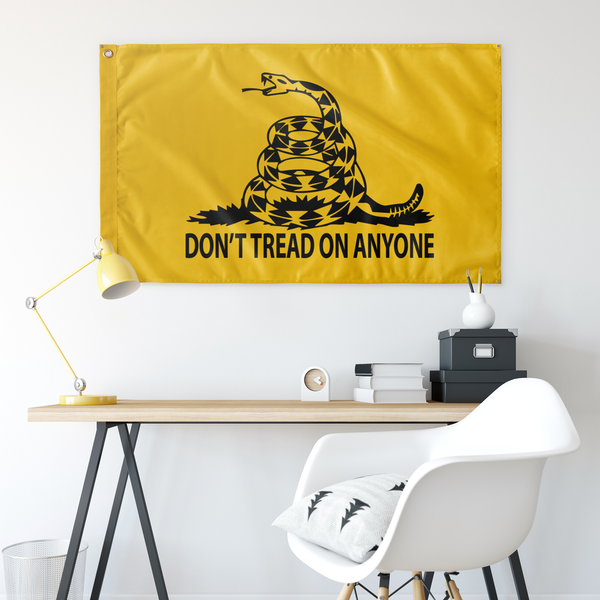 Don't Tread on Anyone Flag - Proud Libertarian