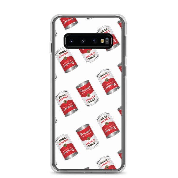 "This is Soup for My Family ""Resistance"" Samsung Case - Proud Libertarian"