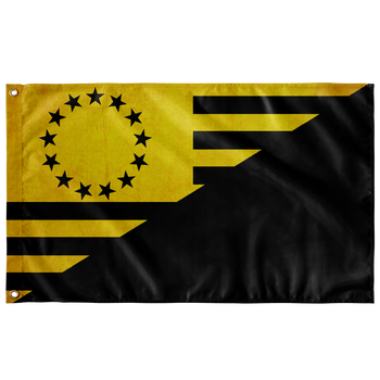 Ancap 13Star Wall Flag - 36