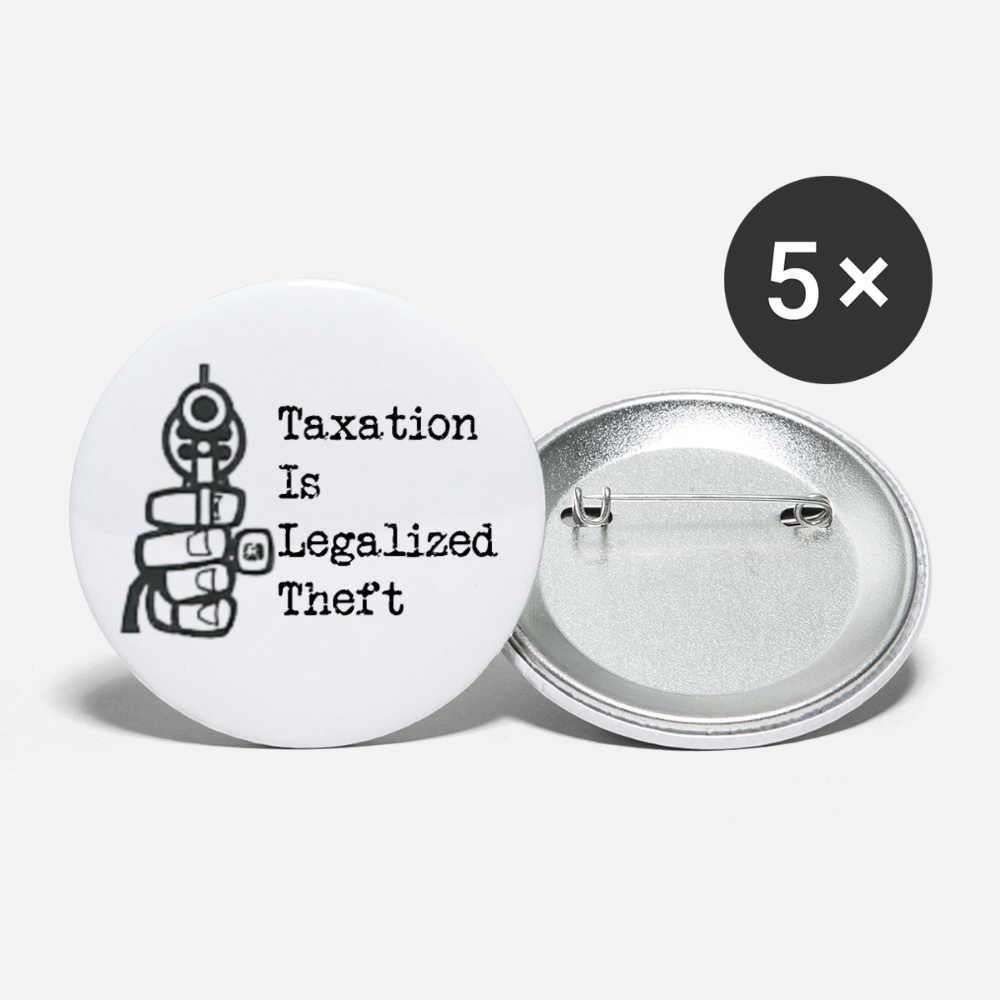 Buttons large 2.2'' (5-pack) - Proud Libertarian