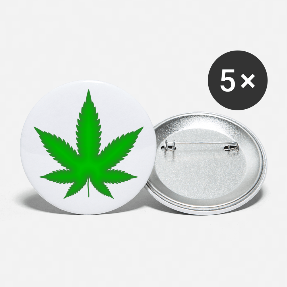 Legalize it Buttons large 2.2'' (5-pack) - Proud Libertarian