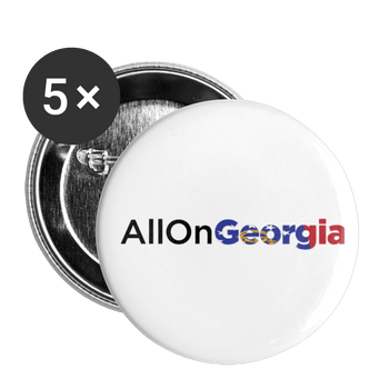ALLONGEORGIA Buttons large 2.2'' (5-pack) - Proud Libertarian
