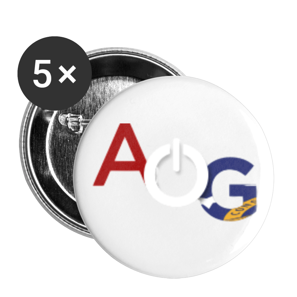 AOG Buttons large 2.2'' (5-pack) - Proud Libertarian
