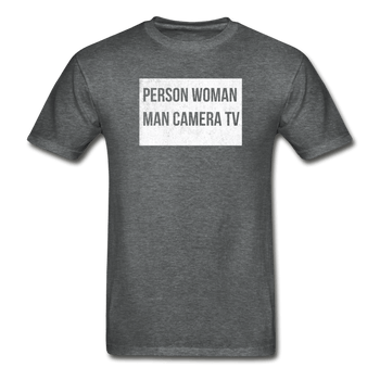 Person Woman Man Camera TV Gildan Ultra Cotton Adult T-Shirt - Proud Libertarian