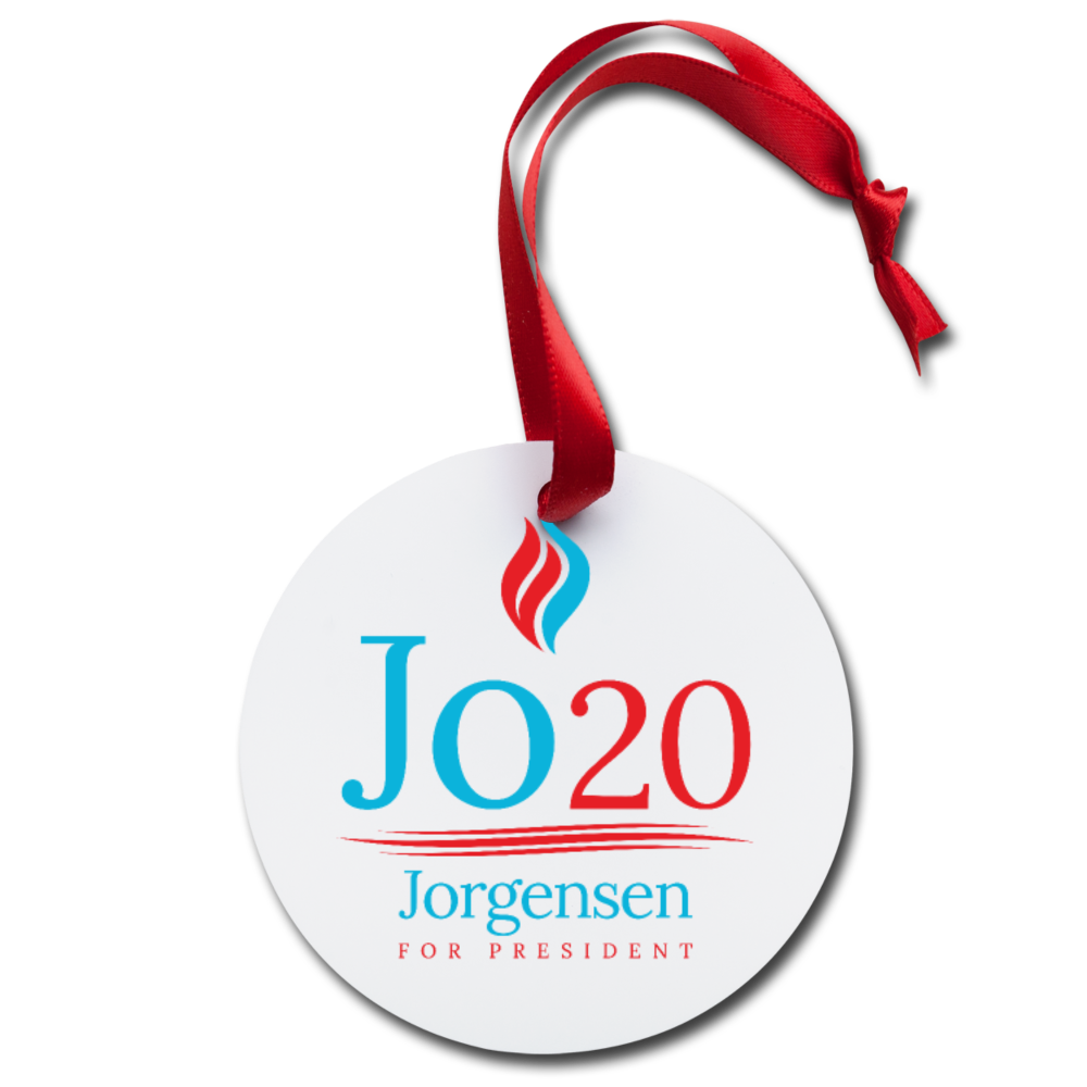 Jo Jorgensen Holiday Ornament - Proud Libertarian
