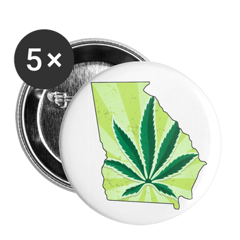 Peachtree NORML Buttons large 2.2'' (5-pack) - Proud Libertarian