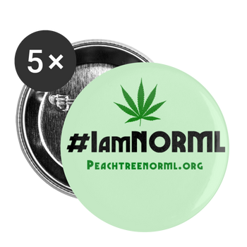 #IAmNORML Buttons large 2.2'' (5-pack) - Proud Libertarian