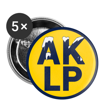 Alaska Libertarian Party Buttons small 1'' (5-pack) - Proud Libertarian