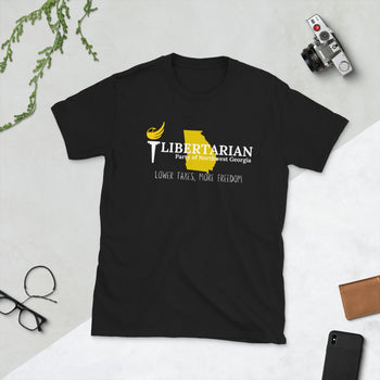 Libertarian Party of Northwest Georgia Short-Sleeve Unisex T-Shirt - Proud Libertarian