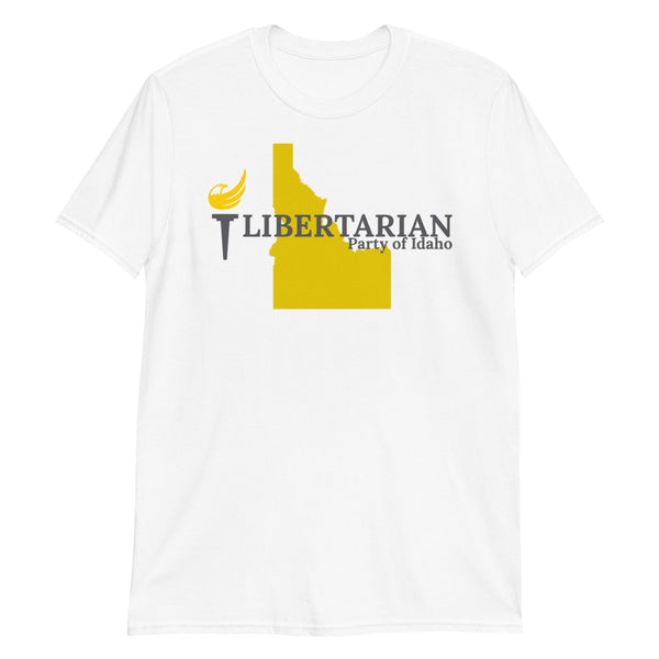 Libertarian Party of Idaho Short-Sleeve Unisex T-Shirt - Proud Libertarian