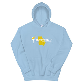Libertarian Party of Georgia Unisex Hoodie - Proud Libertarian