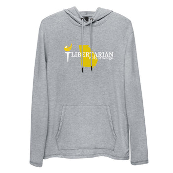 Libertarian Party of Georgia Unisex Lightweight Hoodie - Proud Libertarian