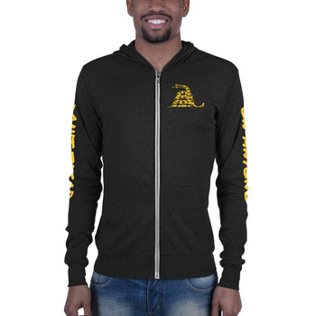 Don't Tread on Anyone Unisex zip hoodie - Proud Libertarian