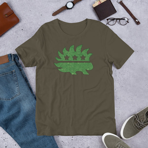 Legalize it LP Porcupine Short-Sleeve Unisex T-Shirt - Proud Libertarian