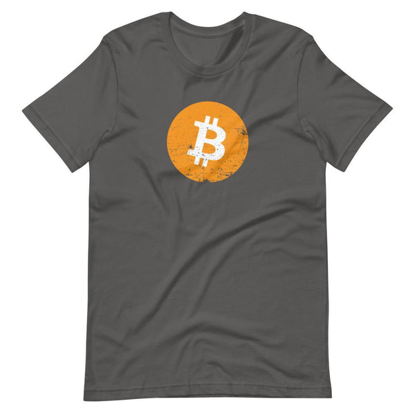 Bitcoin Short-Sleeve Unisex T-Shirt - Proud Libertarian