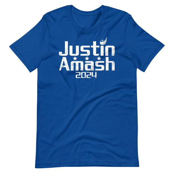 Justin Amash 2024 Short-Sleeve Unisex T-Shirt - Proud Libertarian