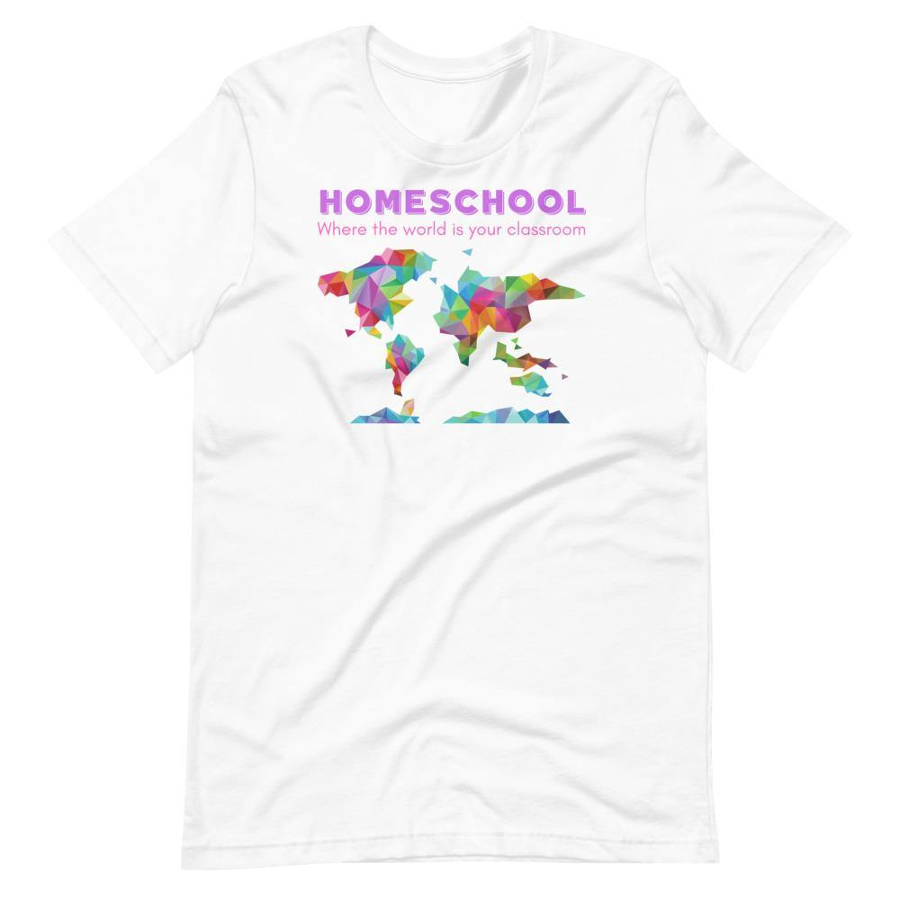 The World is Your Classroom Short-Sleeve Unisex T-Shirt - Proud Libertarian