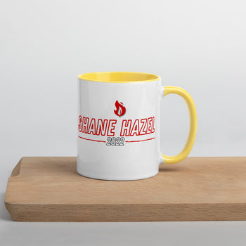 Shane Hazel Mug with Color Inside - Proud Libertarian