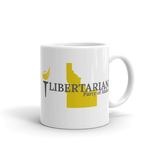 Libertarian Party of Idaho Mug - Proud Libertarian