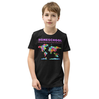 The World is your classroom Youth Short Sleeve T-Shirt - Proud Libertarian