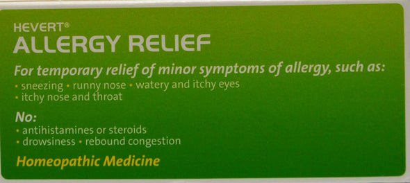 Hevert Allergy Relief