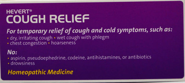 Hevert Cough Relief