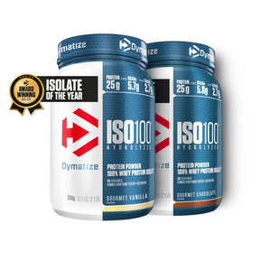 Dymatize Protein - chocolate + banana