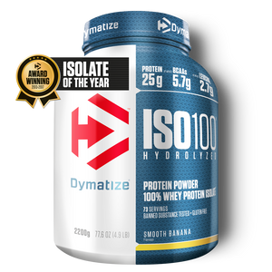 Dymatize ISO 100 Hydrolyzed Whey Protein Isolate 2,2 kg