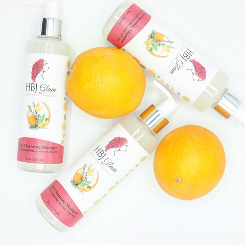 shampoo for hair growth, shanpoo with oranges, shanpoo