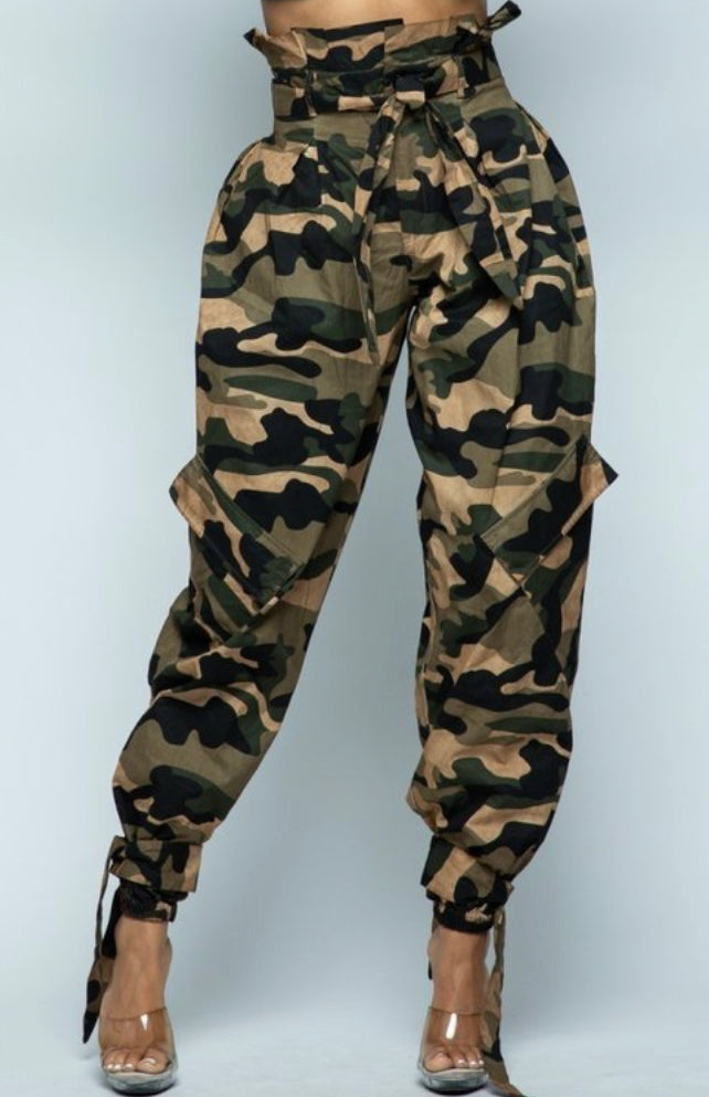 All In Camo Joggers