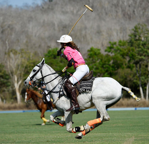 Polo playing at Costa Careyes