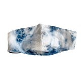 Indigo Cloud Tie-Dye Face Masks