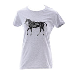 Polo Pony T-shirt  - Women's Gray