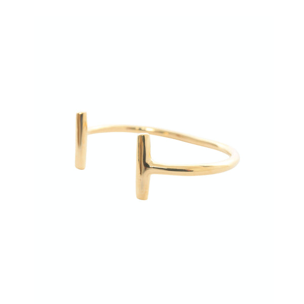 Brass Polo Mallet Bracelet - Stick & Ball