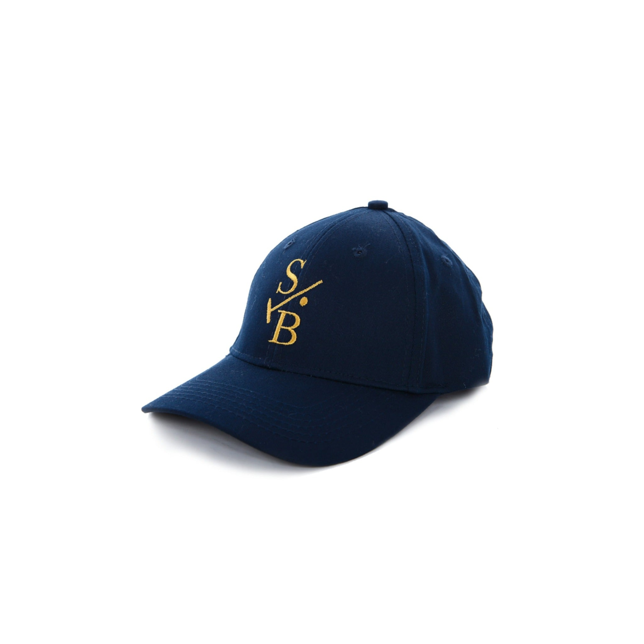 Embroidered Baseball Cap - Navy