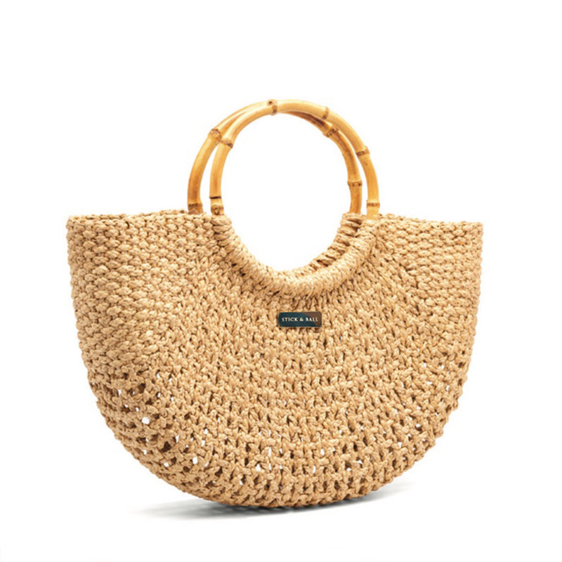The Camille Woven Bag