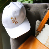 Stick & Ball White baseball cap