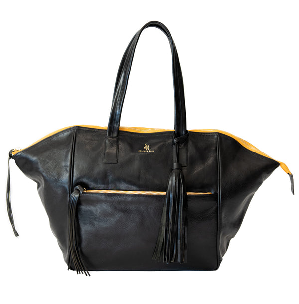 Leather Palermo Soho Bag - Black