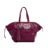 Leather Palermo Soho Bag - Burgundy