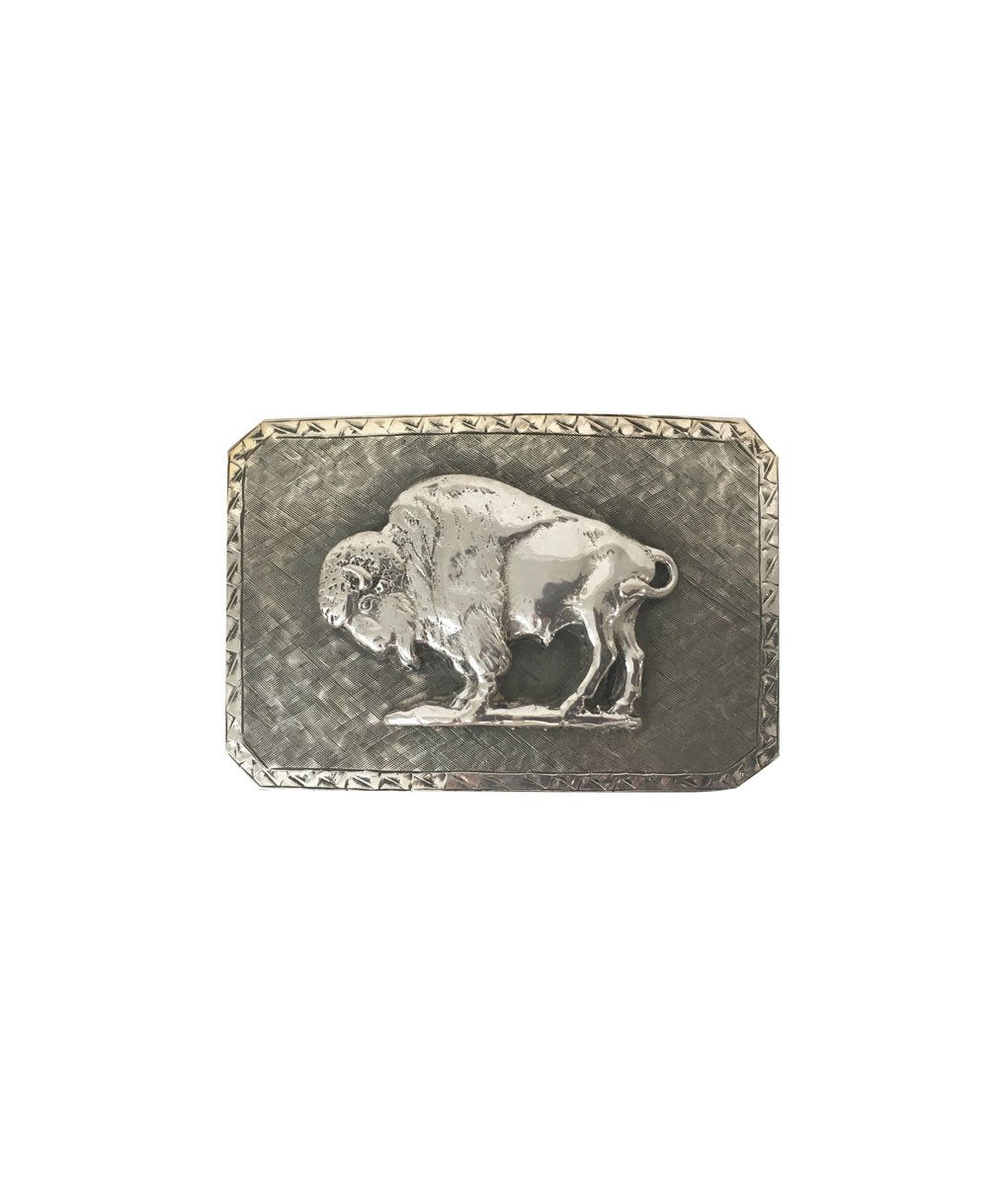 Belt Buckle - Bison