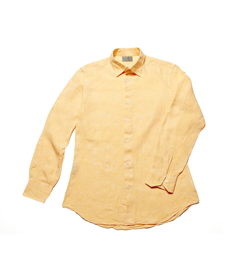 Men's Linen Shirt - Sunflower