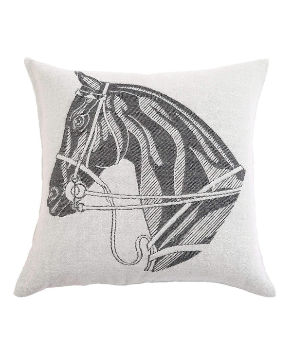 Stick & Ball Horse Head Pillow