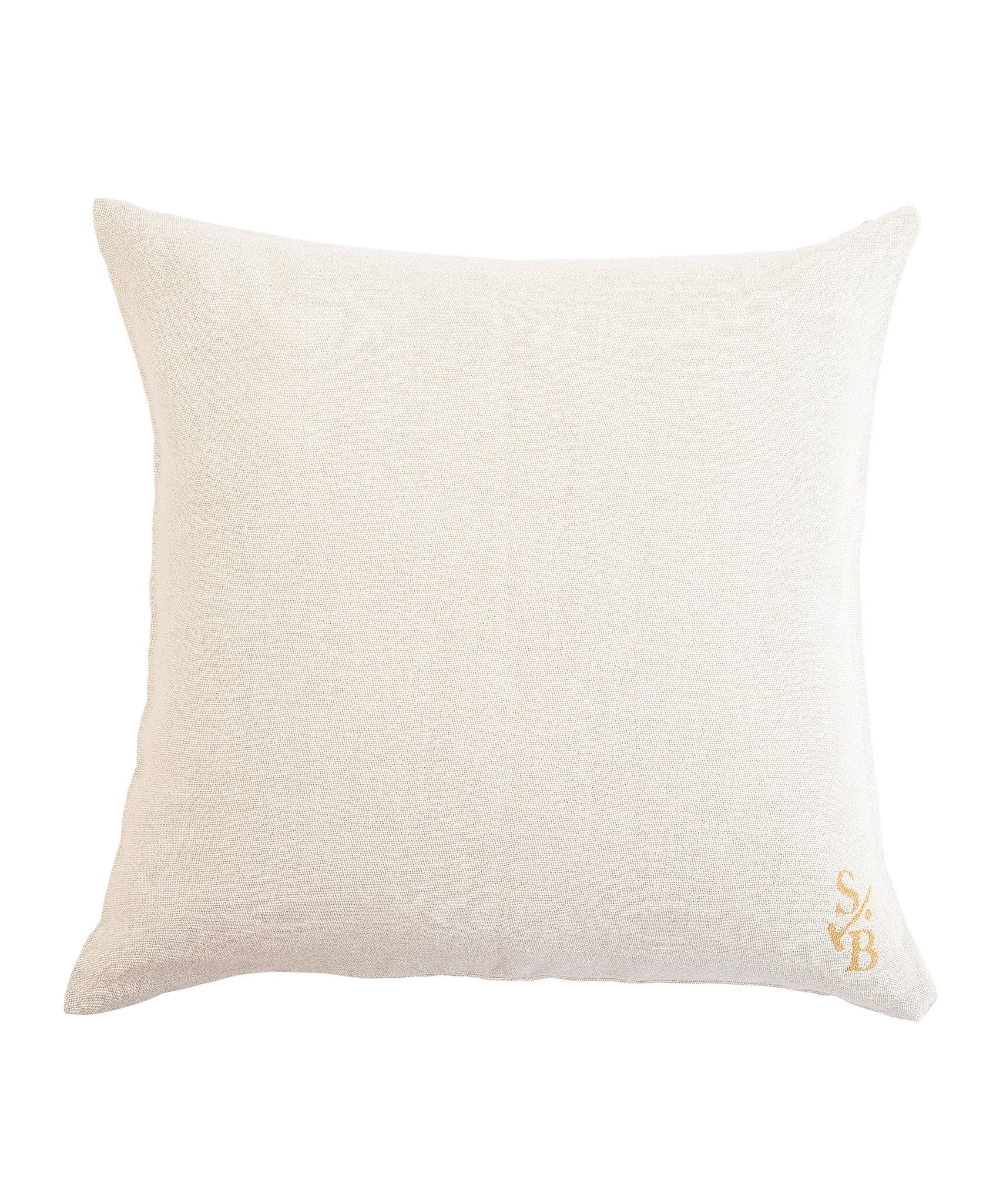 Polo Pony Pillow Back