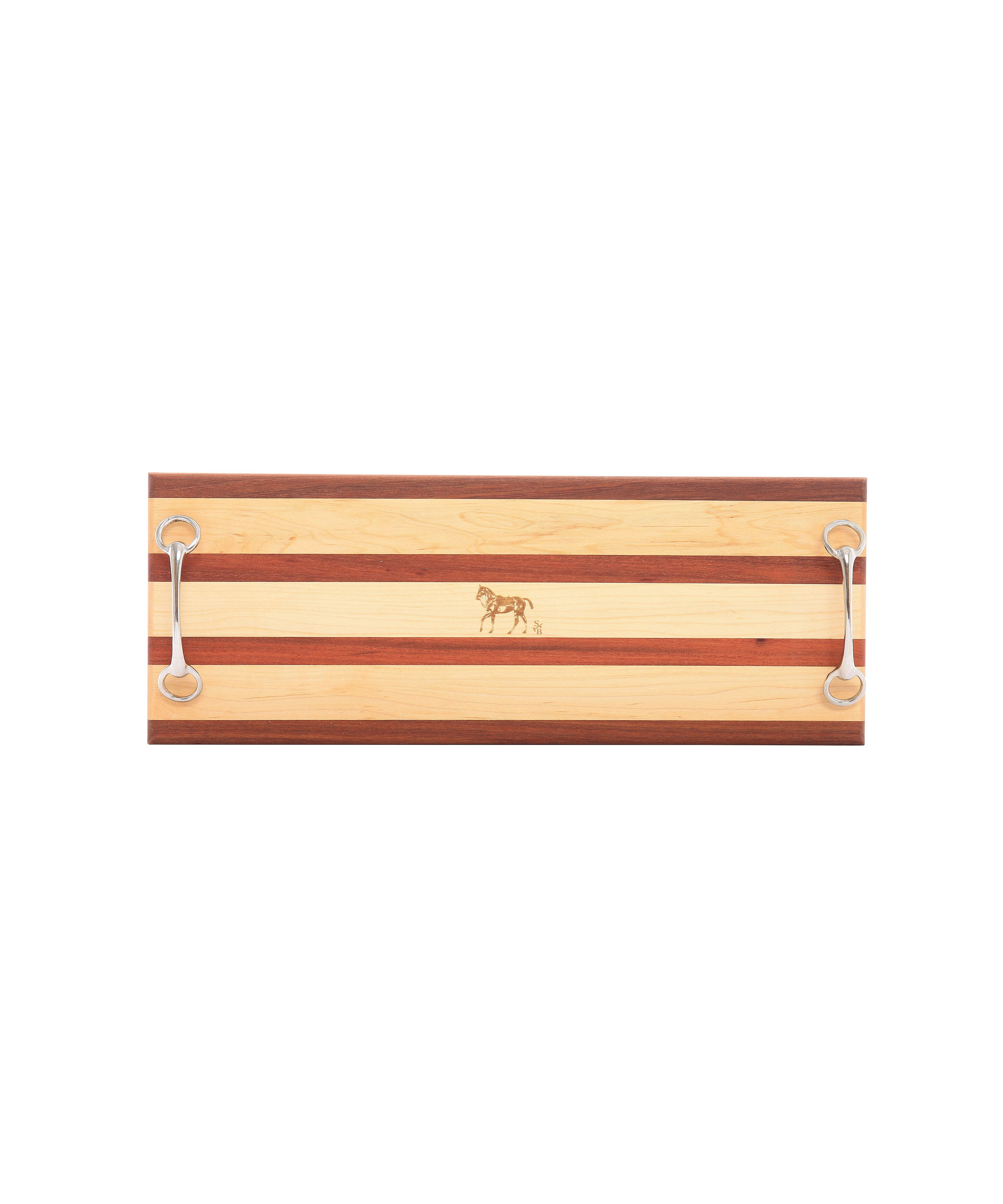 Double Bit Serving Board - Polo Pony
