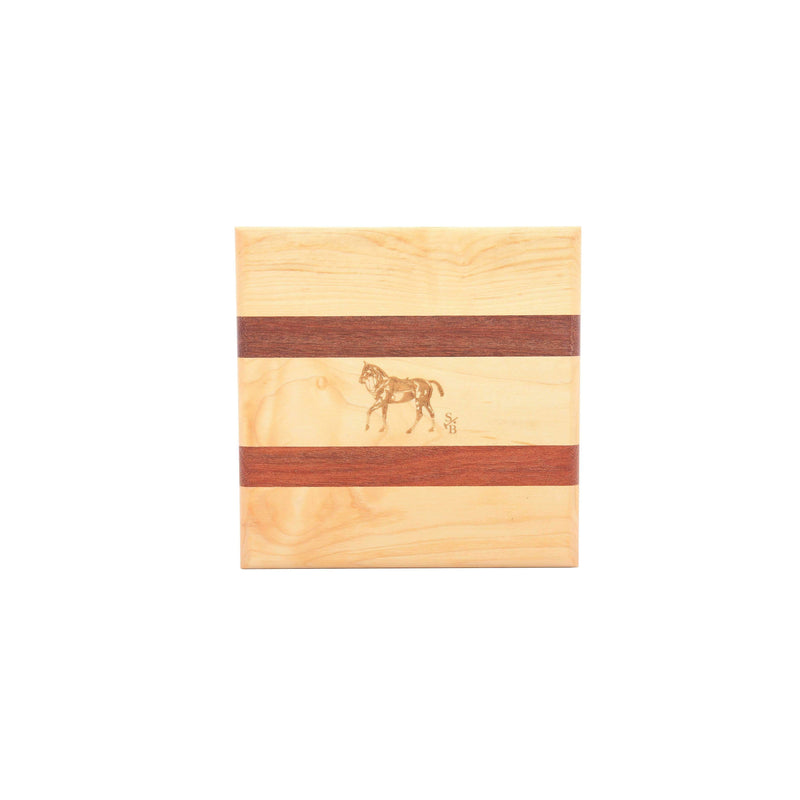 Small Cheese Board - Polo Pony - Stick & Ball